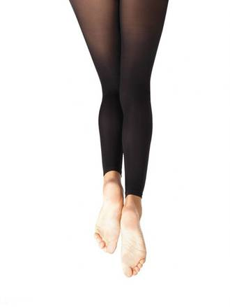 N140 - Hold & Stretch Footless Tights