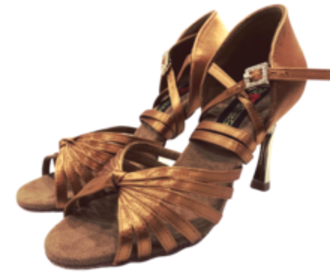 S121/ Tan  Knotted Feature Sandal