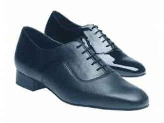 Astaire -  Black Leather Comfort by Freed