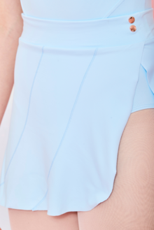 Odile Ice Blue Skirt by Claudia Dean