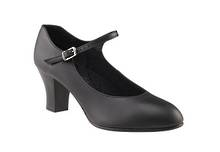650 - Student Footlight Womens Leather Sole
