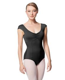 LUB344 - Princess Seam Cap Sleeve Leotard