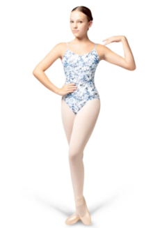 Jardin Blue Leotard