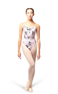 Jardin Pale Pink Leotard