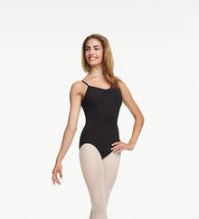 TC0052C - Childs Tactel Pinch Front Leotard