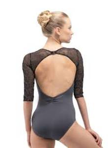 Anouk 3/4 sleeve leotard by Ballet Rosa