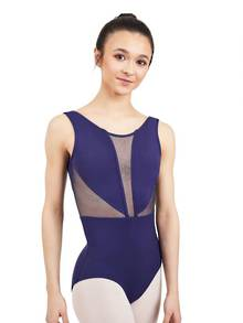 11571T - Tween Cosmos V Back Tank Leotard
