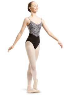 Chanelle Jet leotard