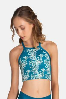 Evergreen Cropped Singlet