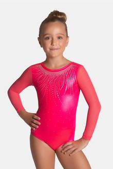 Sugar Plum Long Sleeved Leotard