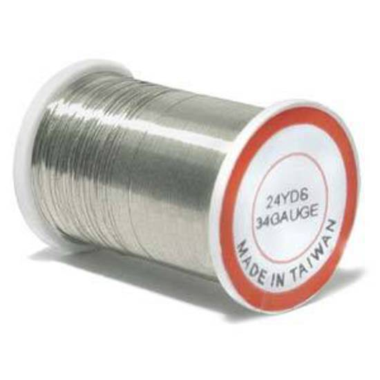 Craft Wire, Silver Colour: 34 gauge