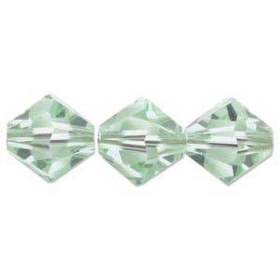 6mm Swarovski Crystal Bicone, Chrysolite