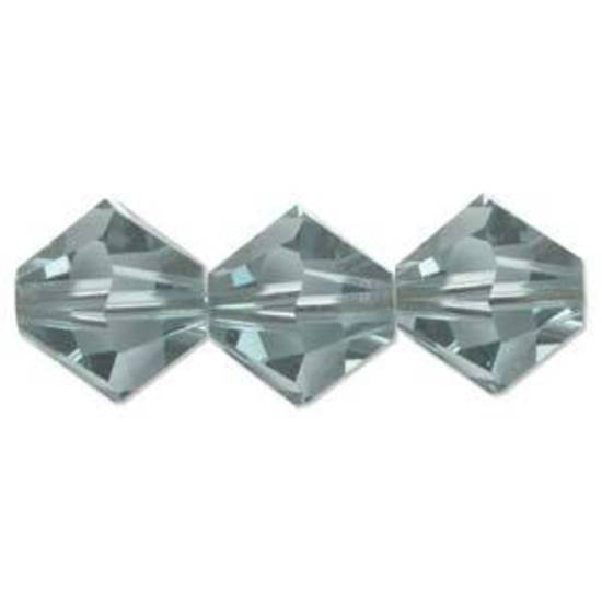 4mm Swarovski Crystal Bicone, Indian Sapphire