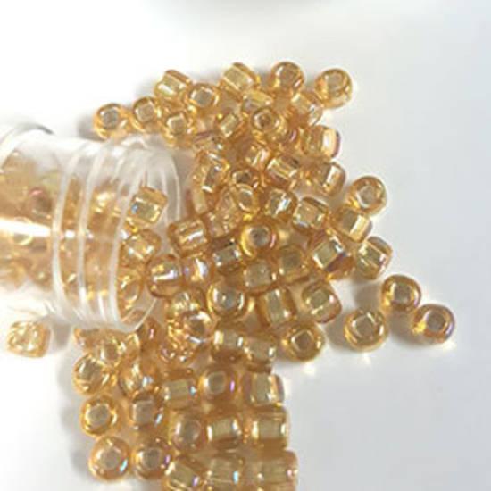 Matsuno size 6 round: 634A - Light Amber AB