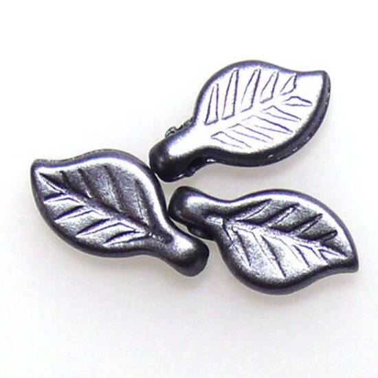 Acrylic Leaf, Hematite