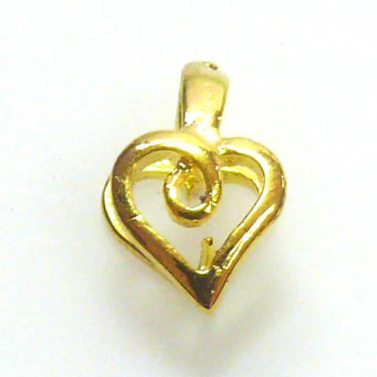 Claw Bail, heart shaped