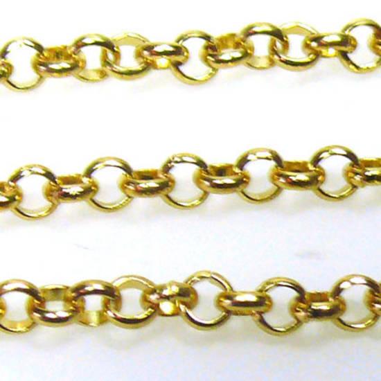 Belcher Chain, medium - Gold
