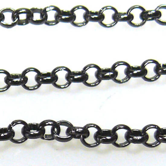 Belcher Chain, medium - Gunmetal