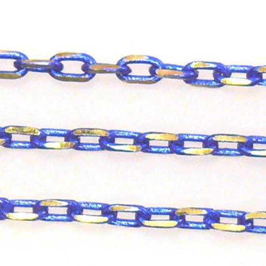 Coloured Chain: Royal Blue (3mm)