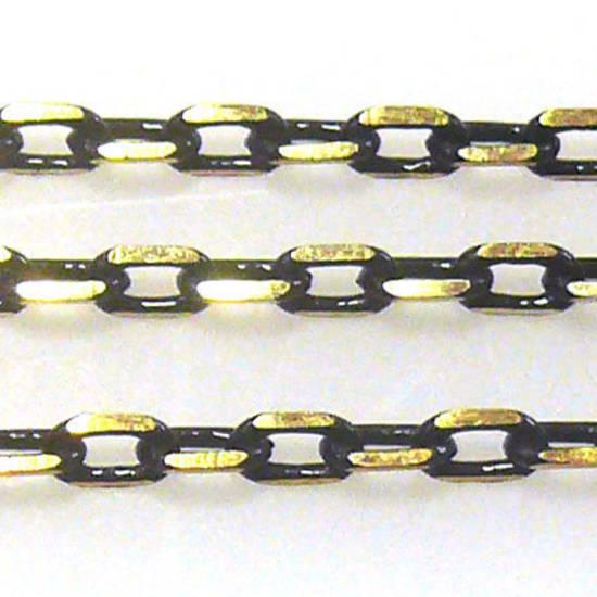 Coloured Chain: Black (3mm)