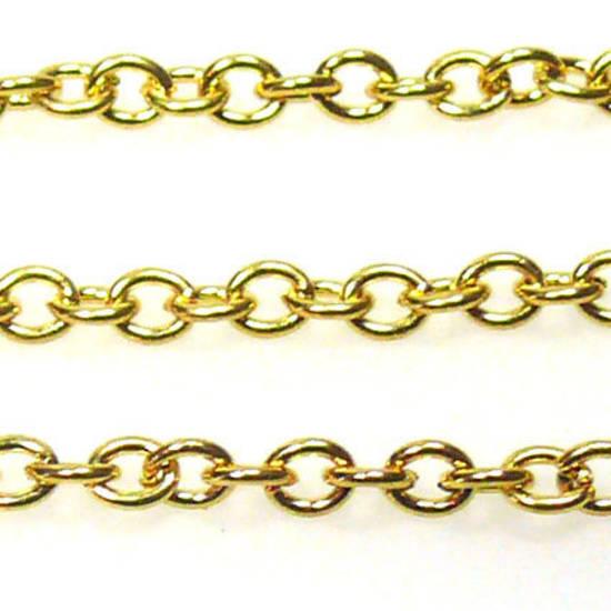 Fine Chain: Gold (3mm)