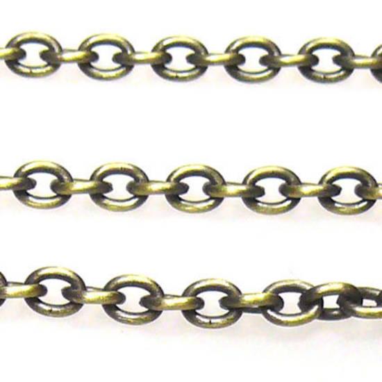 Fine Chain: Brass (3mm)