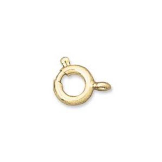 Spring Ring Clasp, medium - gold