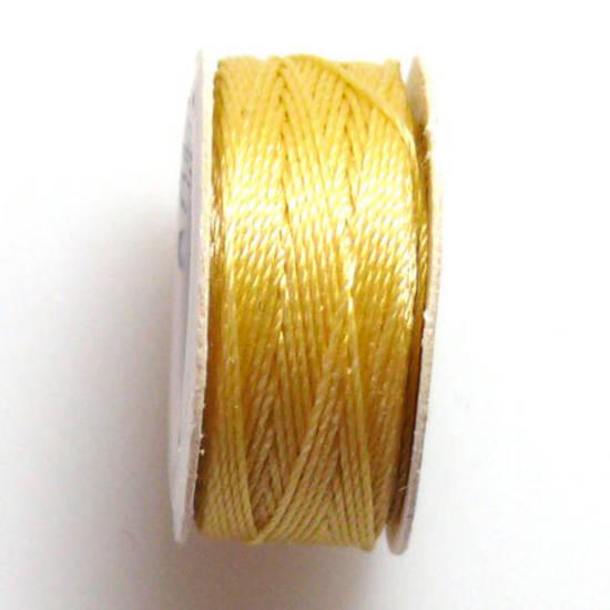 Conso Thread: Slate Yellow