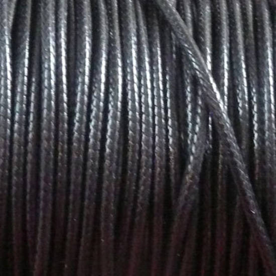 Soft Round Braided Cord, 2mm, black