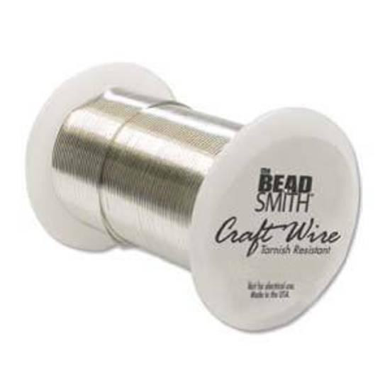 Craft Wire, Silver Colour: 24 gauge