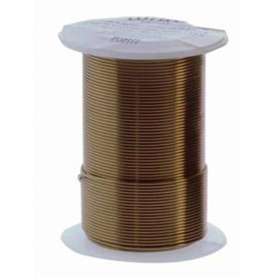 NEW!  Beadsmith Craft Wire, Vintage Bronze Colour: 18 gauge