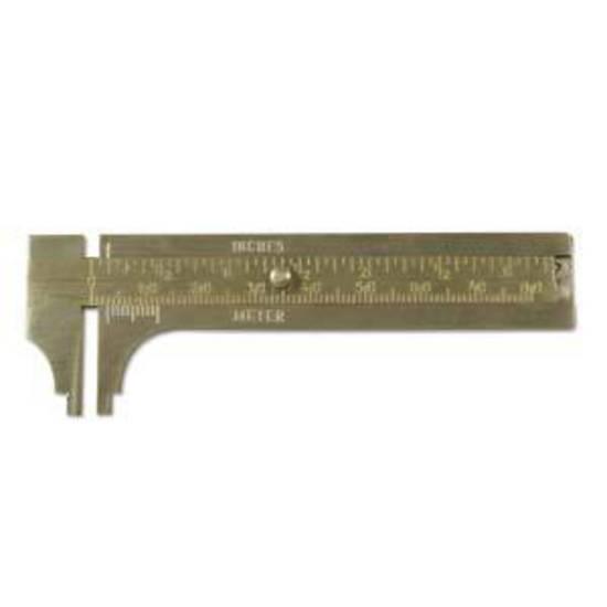 BeadSmith Brass Caliper Gauge.