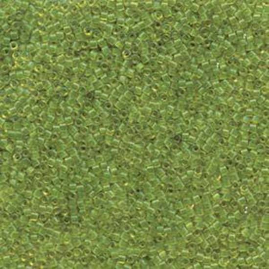 Delica, colour 1107 - Olive transparent