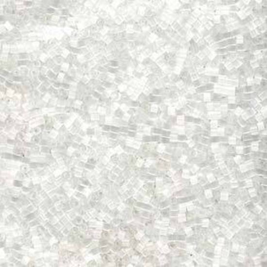 Delica, colour 635 - Crystal-Silk Satin