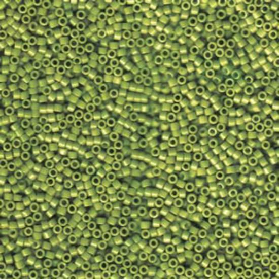NEW! 11/0 Miyuki Delica, colour 1135 - Opaque Avacado