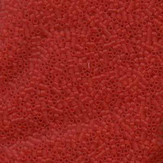 Delica, colour 745 - Matte Transparent Light Red