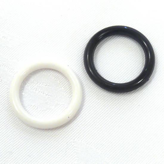 Acrylic Donut Style Piece, thin round