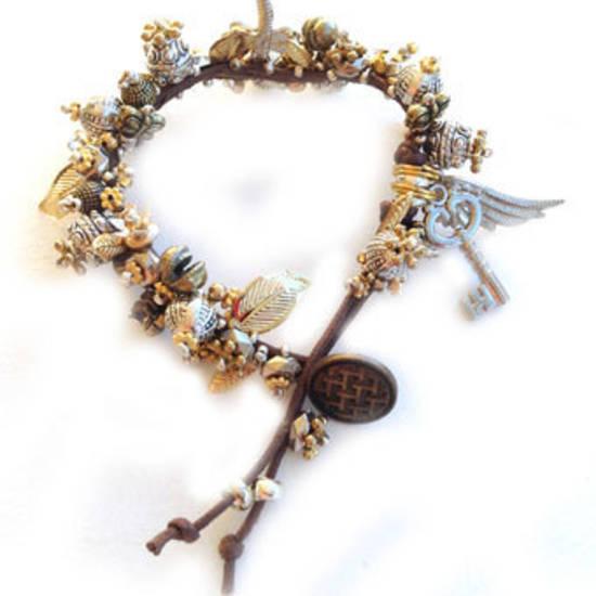 Metallic Garden Bracelet KITSET:  El Dorado