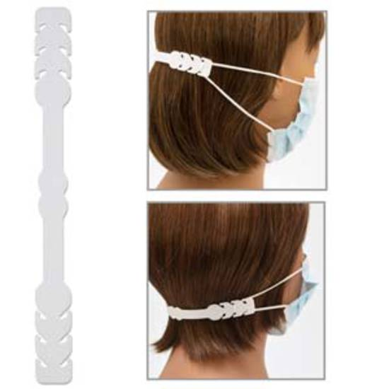 Fablastic Mask mate silicon ear saver: pack of 2 - white