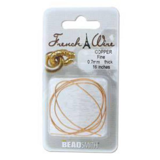 Fine French Wire (Gimp): Copper