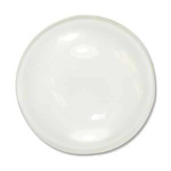Glass Tile (Cabochon), large round - 30mm