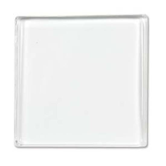 Glass Tile (Cabochon), large square - 35mm