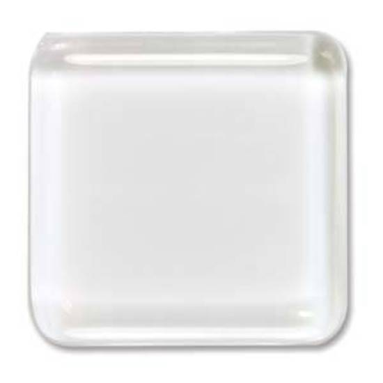 Glass Tile (Cabochon), small square - 23mm