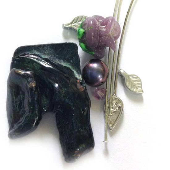 CLEARANCE KITSET: Pearl Cluster KITSET: Grape