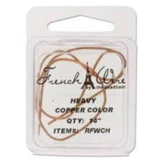 Heavy French Wire (Gimp): Copper