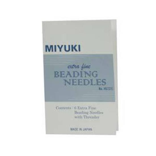 Miyuki size 13 Beading Needles (6 pack) plus threader