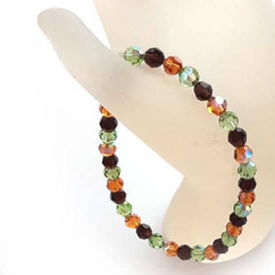 KITSET: Swarovski Crystal Bracelet - Autumnal