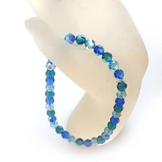 KITSET: Swarovski Crystal Bracelet - Ocean