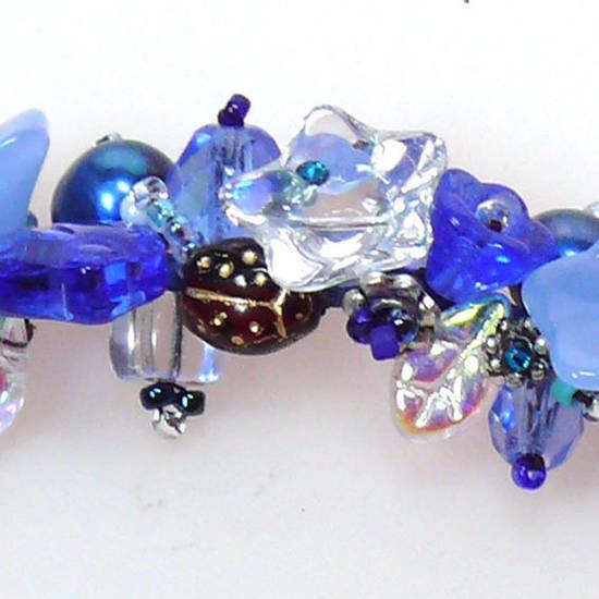 KITSET: Garden Bracelet - blues