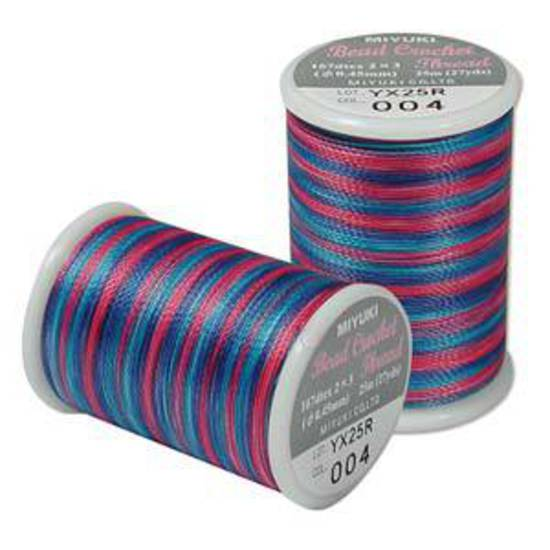 Miyuki Crochet Thread: 004 Gem Tones